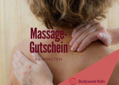 Massagegutschein 60 min