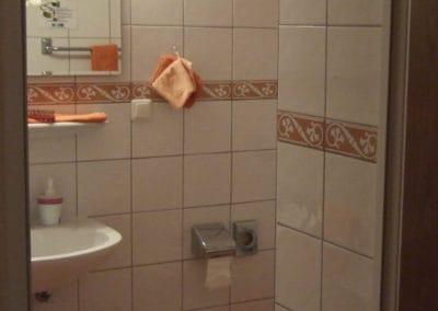 Blick ins Bad, Hotel Buchholz